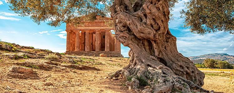 Tour por Sicilia con chófer y guía hispano hablante