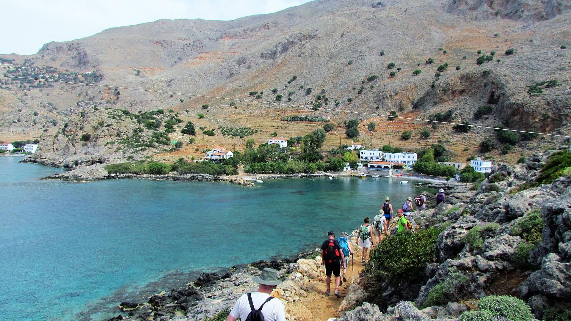 Des Montagnes blanches à la Méditerranée en randonnées