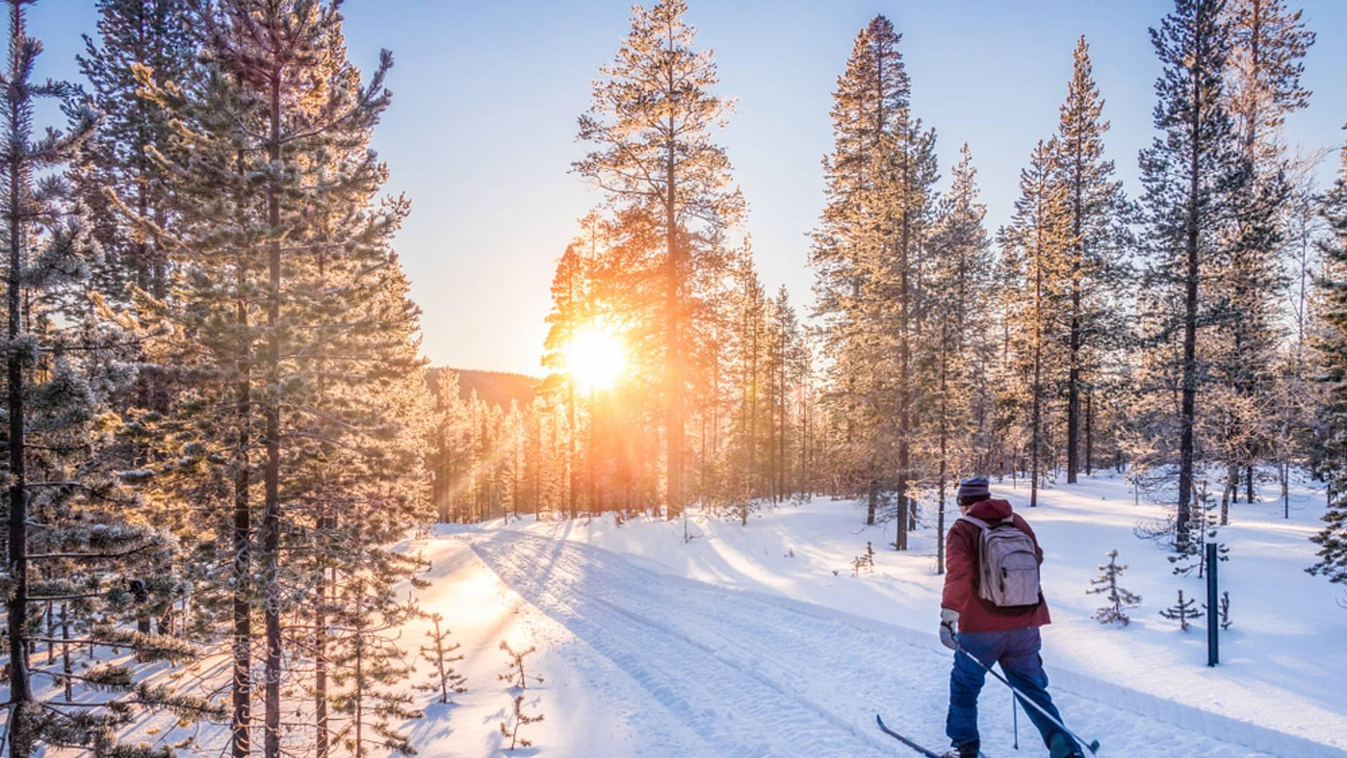 Langes Winterwochenende in Lulea