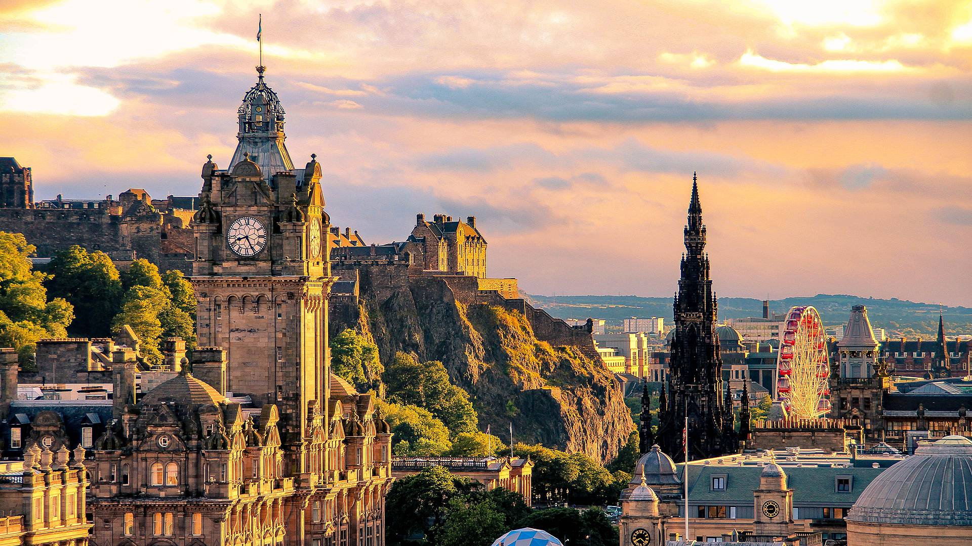 Escapade à Edimbourg