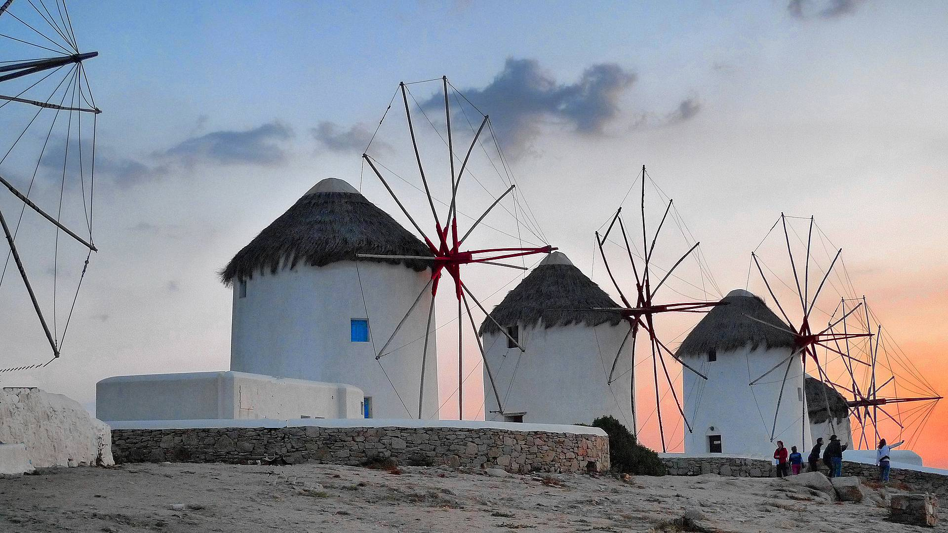 La romantica Santorini, la colta Altene e la vivace Mykonos