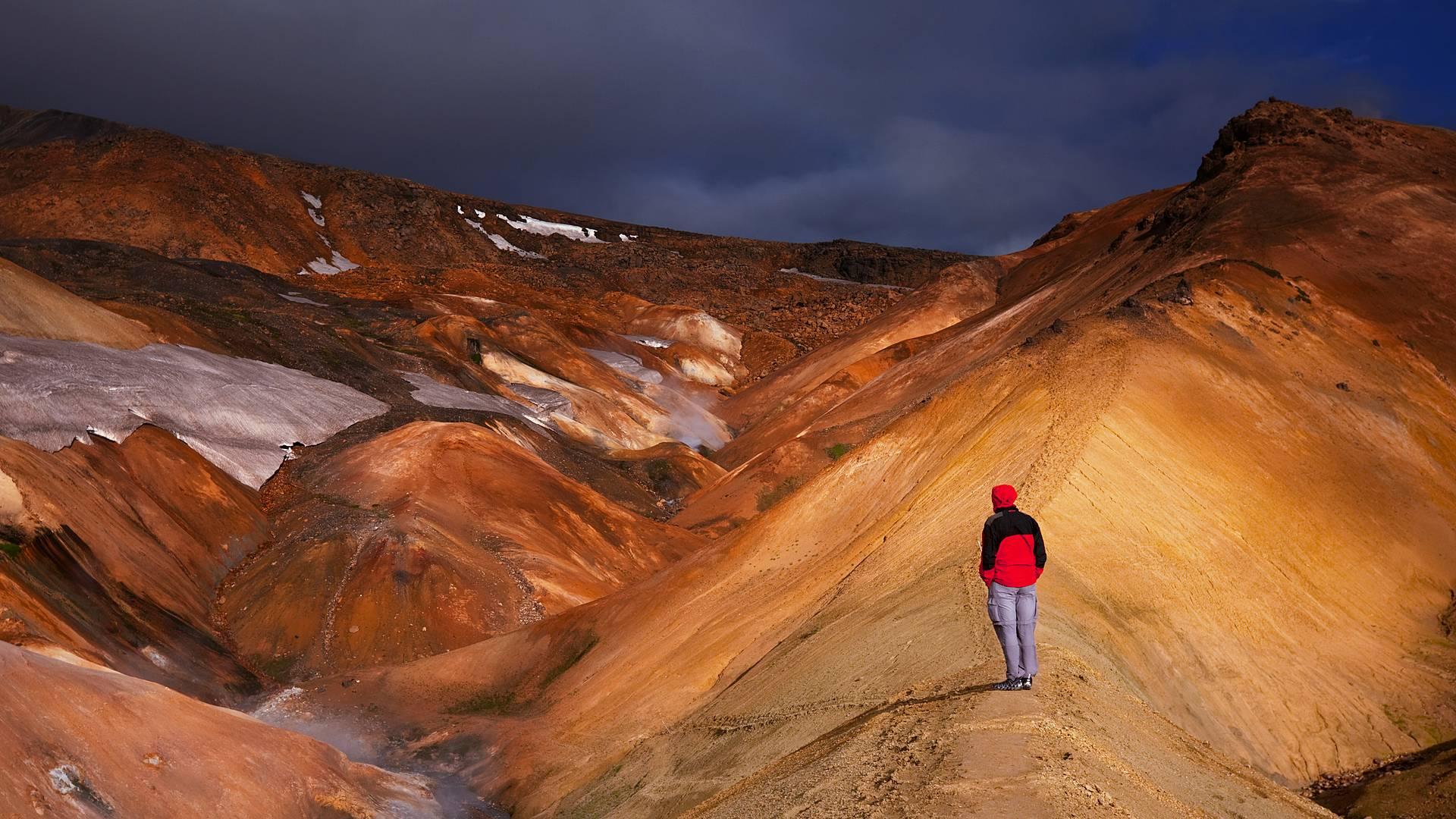Detrás las montañas de Fjallabak