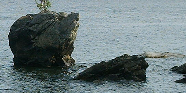 Roccia della tartaruga - verso  Goriatchinsk