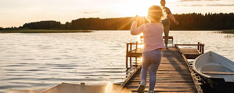 Un verano finlandés en familia