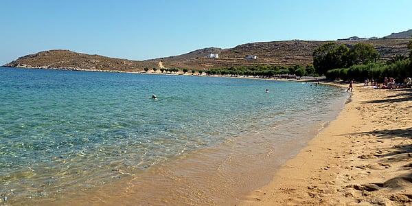 La magnifique plage de Livadaki à Sérifos
