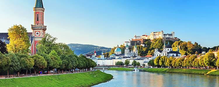 De Vienne à Salzbourg