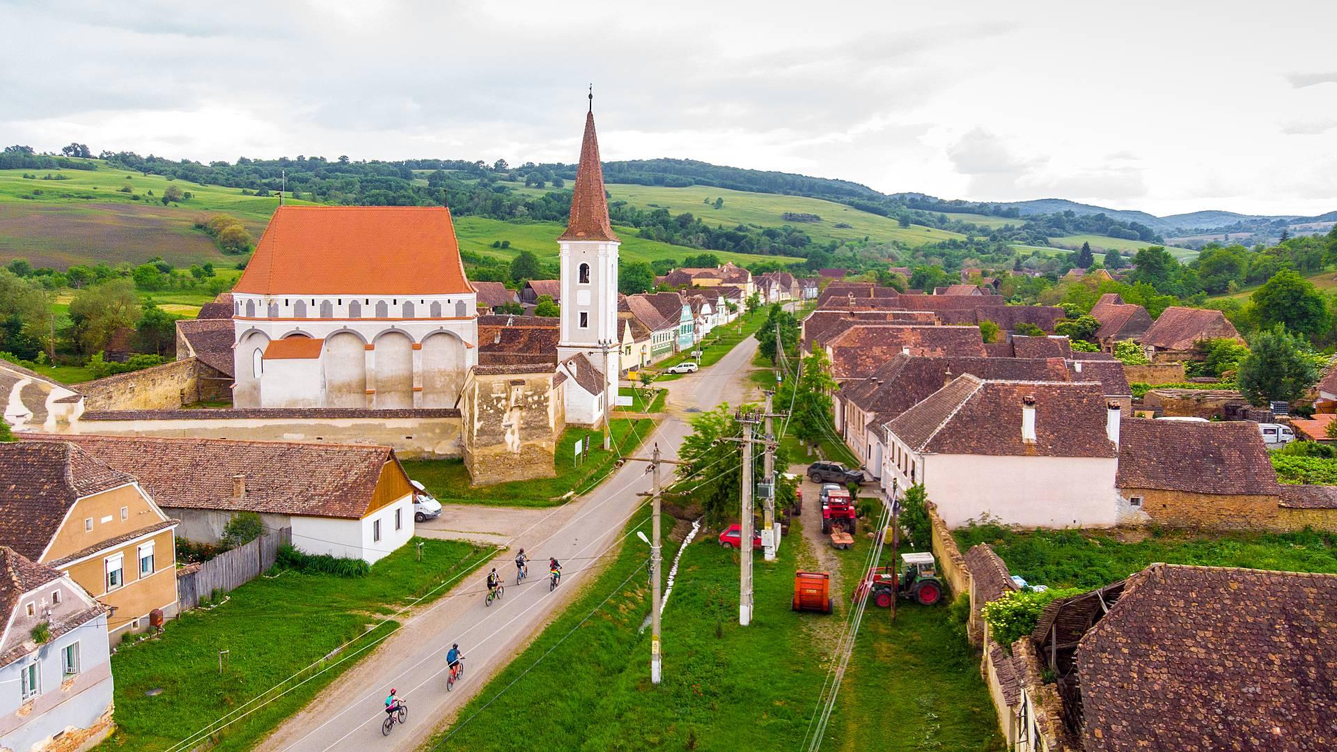 Randonnée et velo dans les Carpates