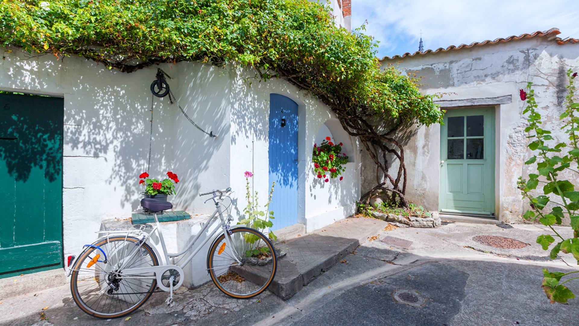 La Vélodyssée de la Rochelle à Royan, en passant par l'Ile de Re, l'Ile d'Oléron et l'Ile Madame