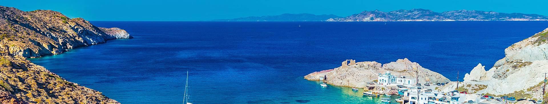 Croisière et Balade en bateau en Grèce