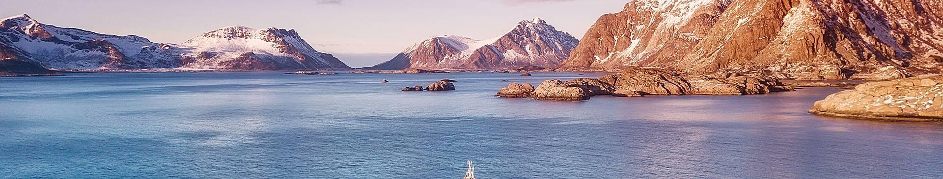 Croisière Fjord et Balade en bateau en Norvège