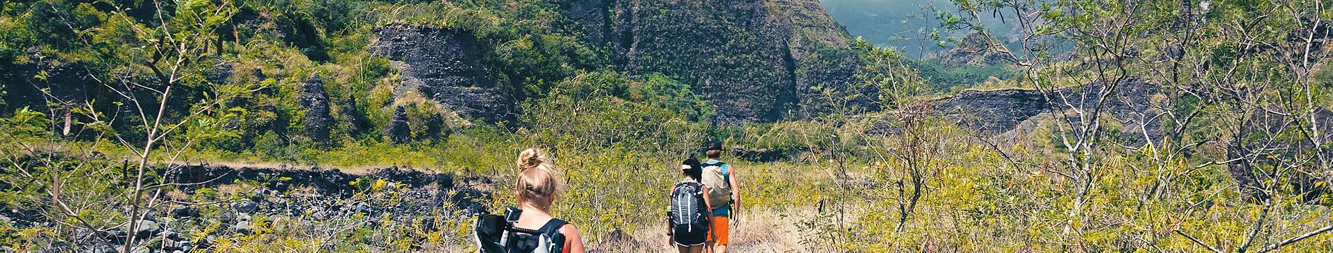 Trek et randonnée à la Réunion