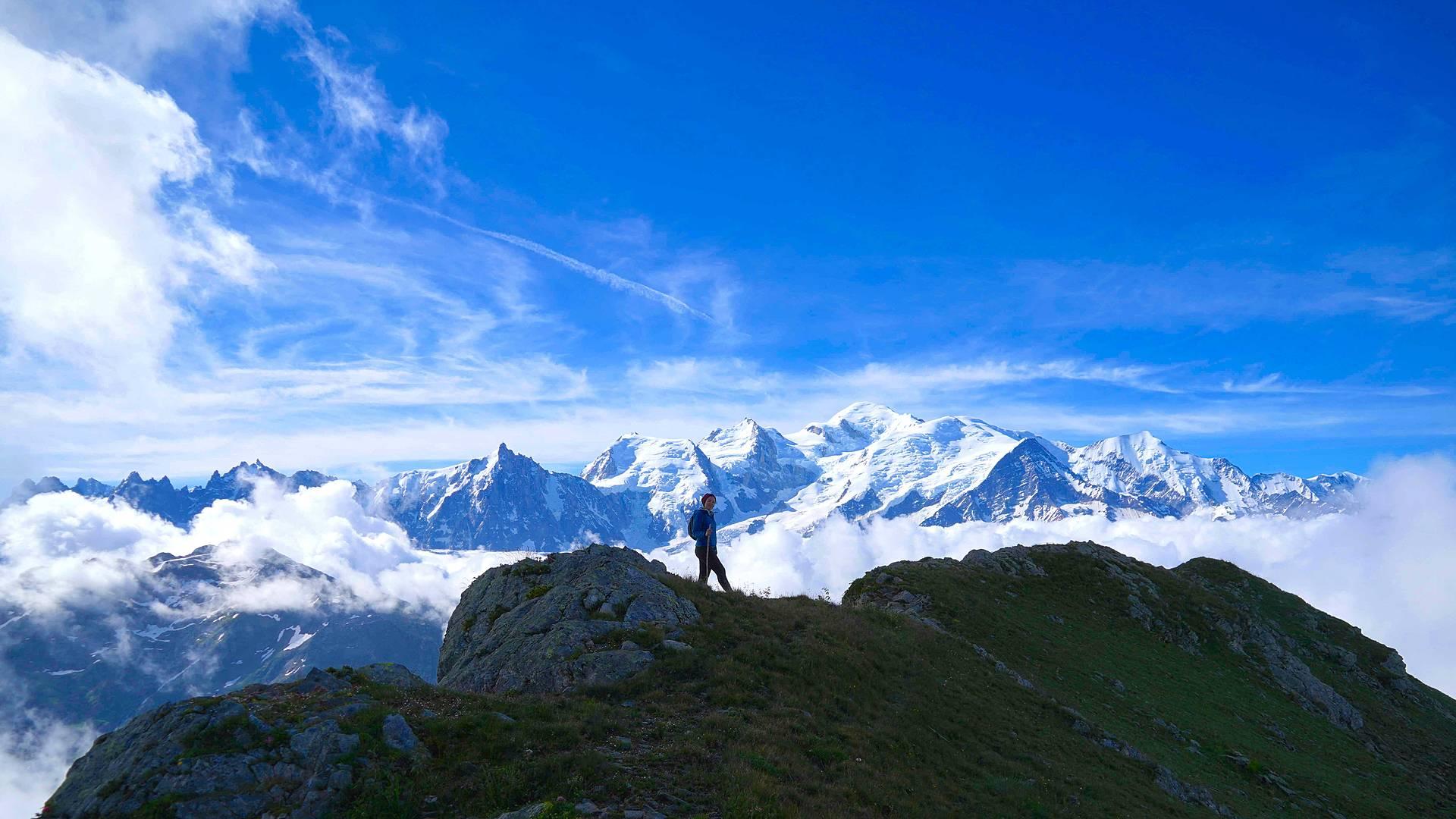 Le tour du Mont-Blanc en petit groupe