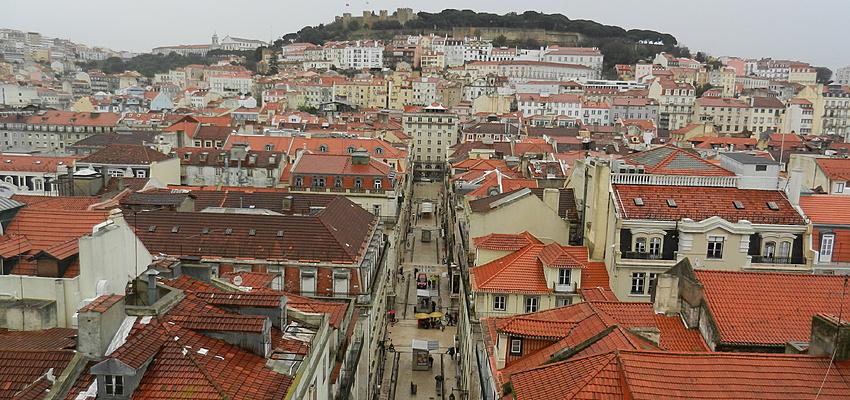 Une vue sur Lisbonne