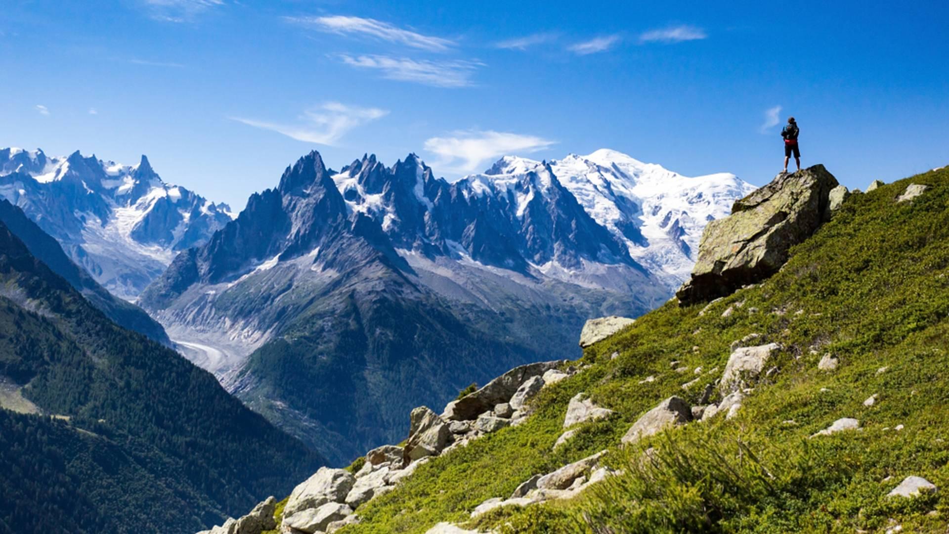Le mythique tour du Mont Blanc en liberté