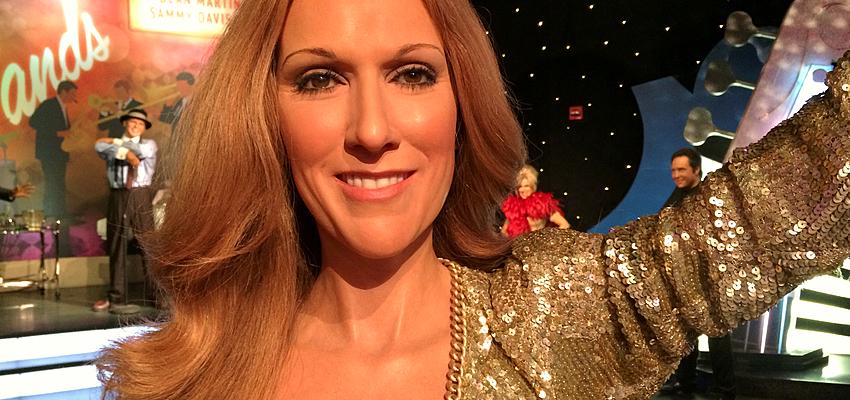 La célèbre Céline Dion