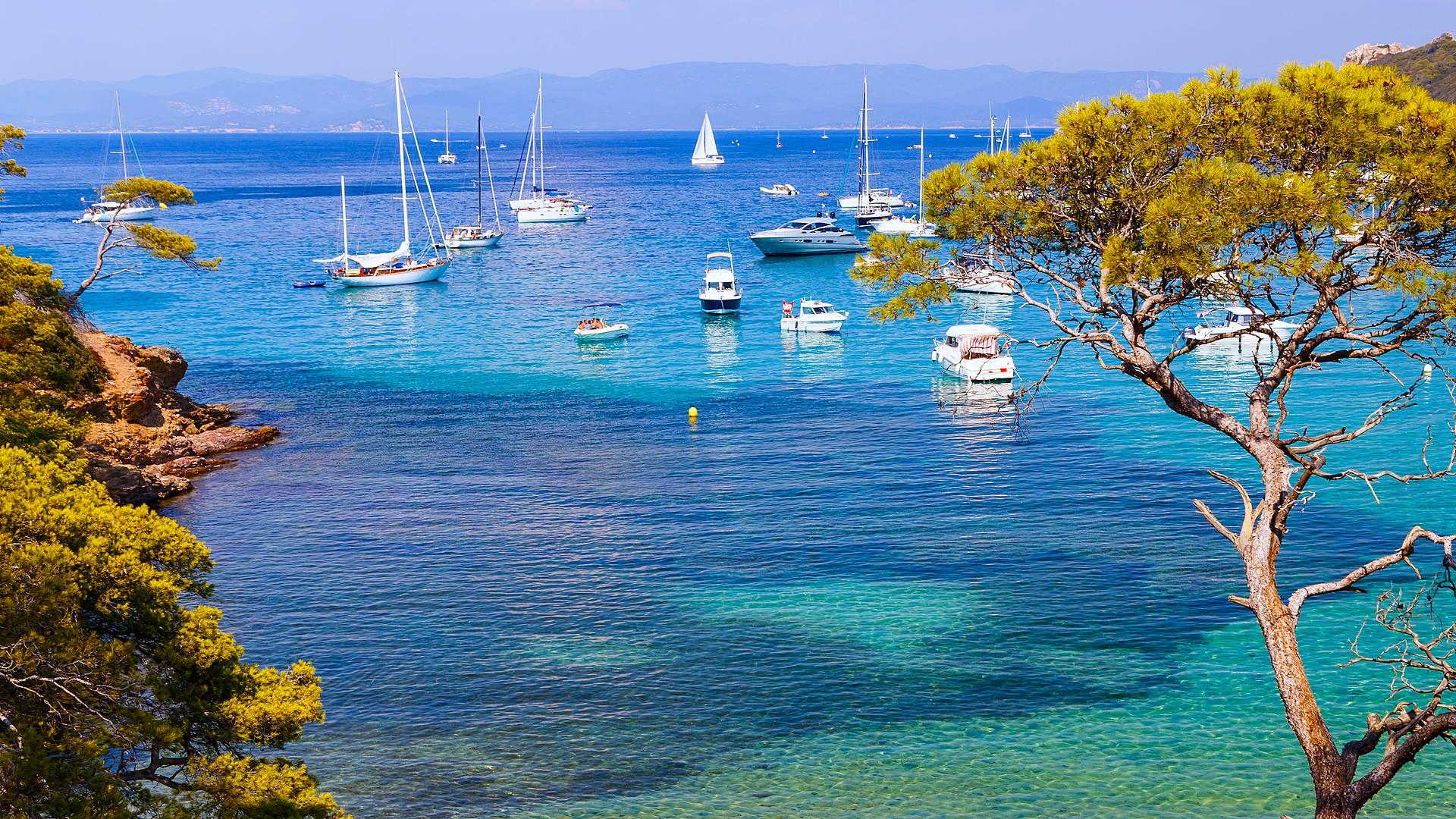 Baignades et randonnées dans les îles d'Or : Giens, Porquerolles et Port-Cros