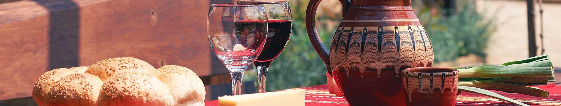 Rutas gastronómicas y enológicas por Bulgaria