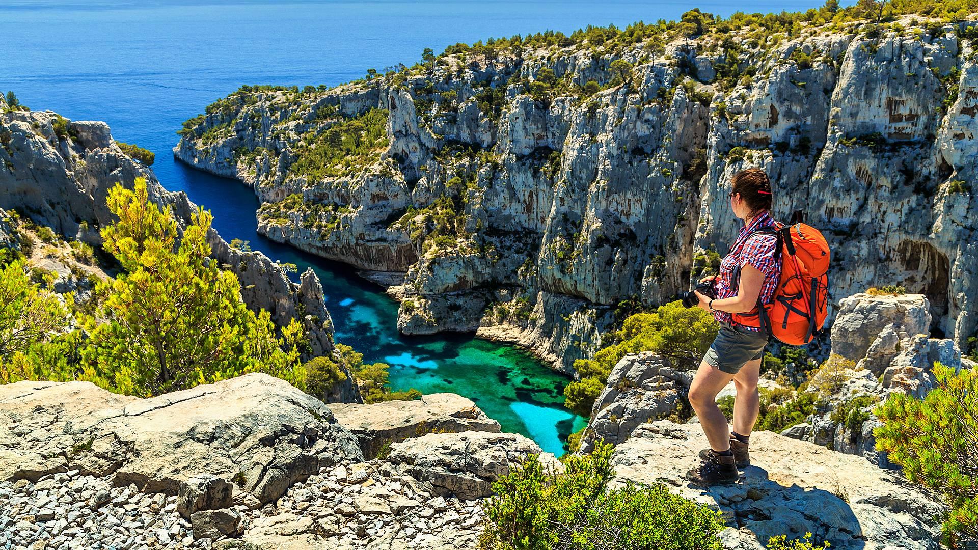Randonnées dans les calanques de Marseille à Cassis