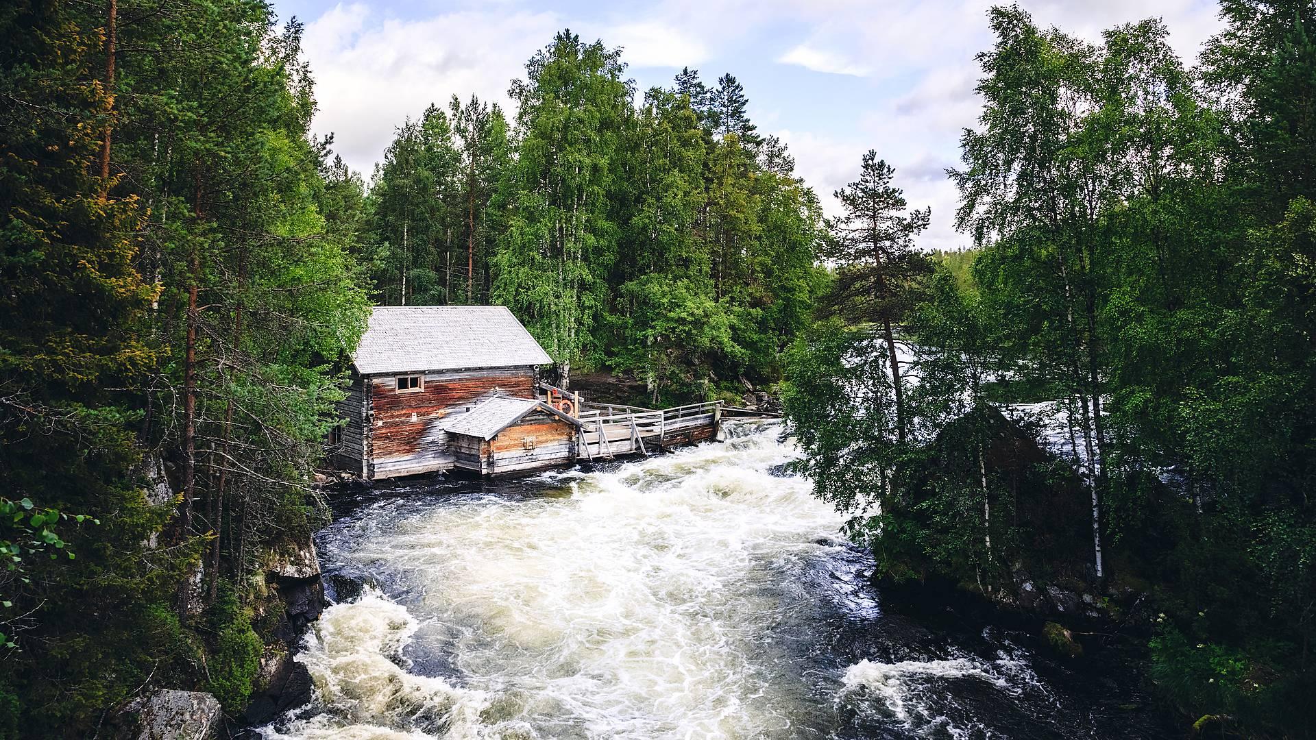 Sommerurlaub in Rovaniemi und Umgebung