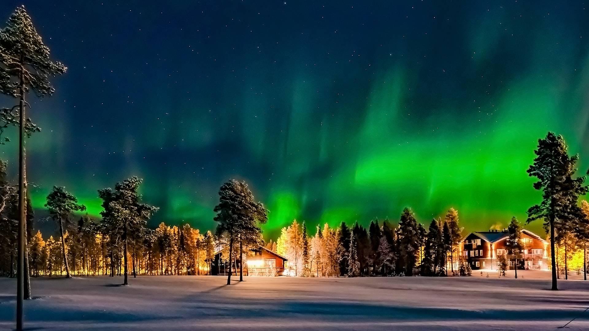 Eine Märchenwoche in Lappland