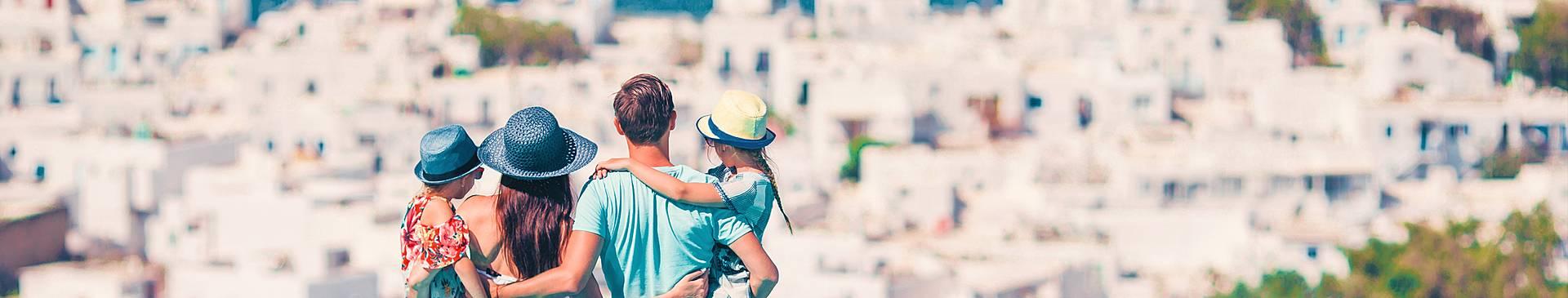 Grecia con niños