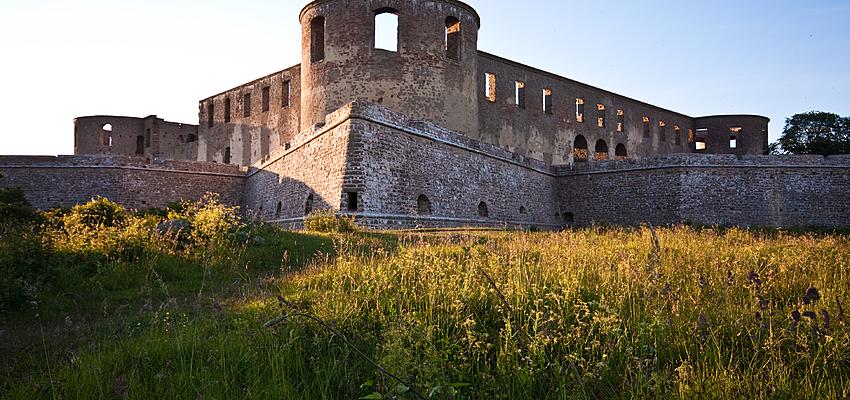 Las ruinas de Borgholm, no muy lejos de Kalmar