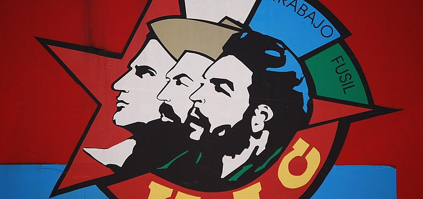 Sur un mur de La Havanne