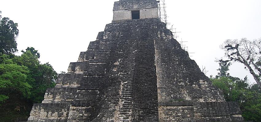 Pyramide maya à Tikal
