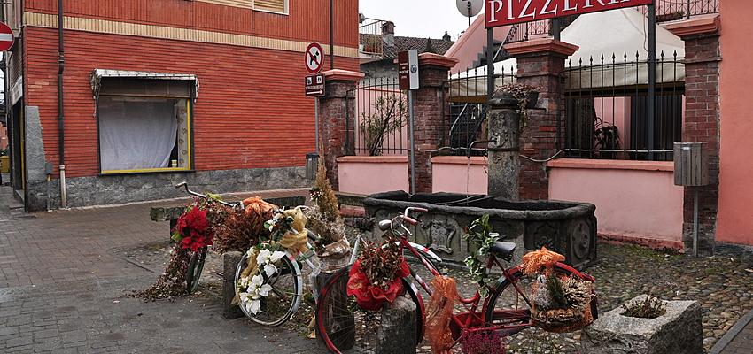 Pizzería familiar en una pequeña ciudad del sur de Italia