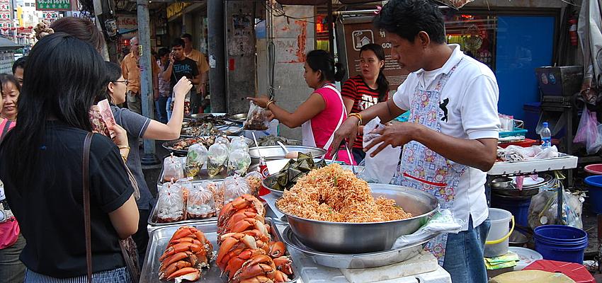 Cuidado con la higiene en los puestos callejeros