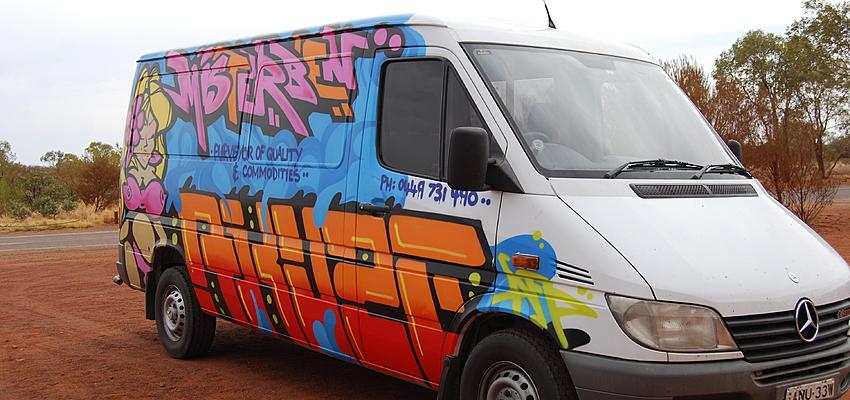 Le van est un moyen de transport très populaire en Australie