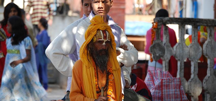 Sadhu en Katmandú