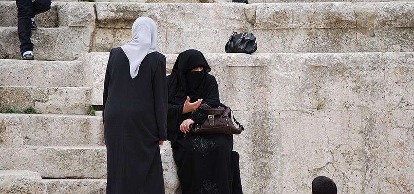 In a street in Amman