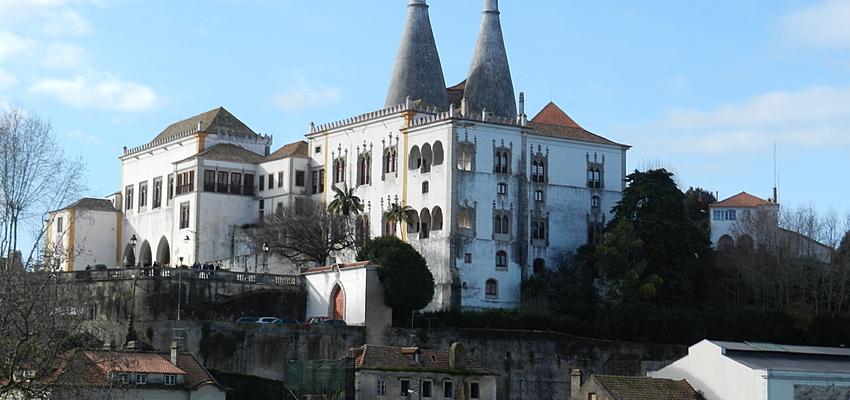 En la pequeña ciudad de Sintra