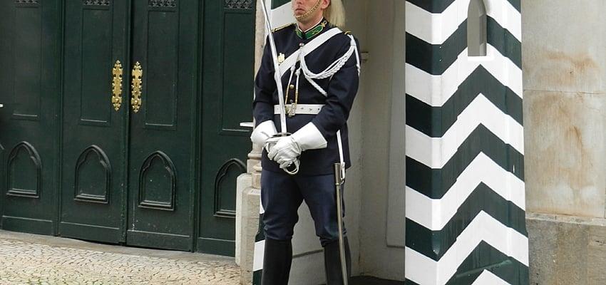 Guardia en Portugal