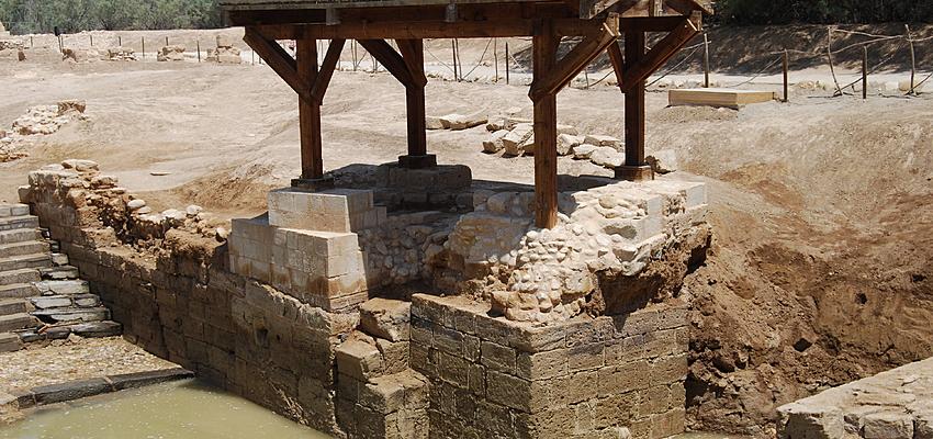 Fue aquí donde se bautizó a Jesús
