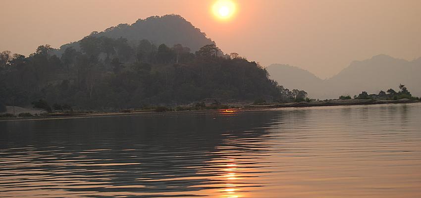 Paisaje del sur de Laos