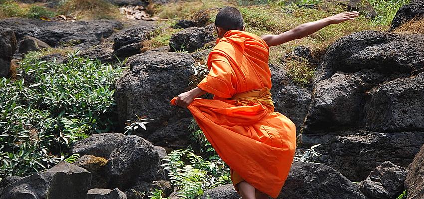Un monje budista