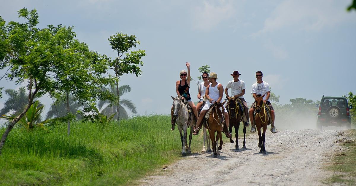Voyage à thème : Sport aventure: escalade, tyrolienne et randonnées équestres