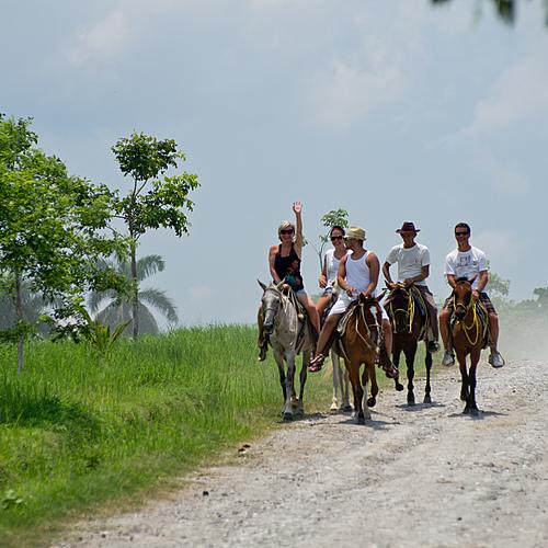 Sport aventure: escalade, tyrolienne et randonnées équestres - La Havane -