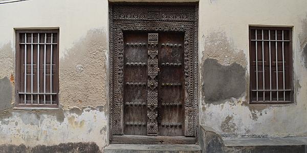 Une porte d'entrée à Malindi
