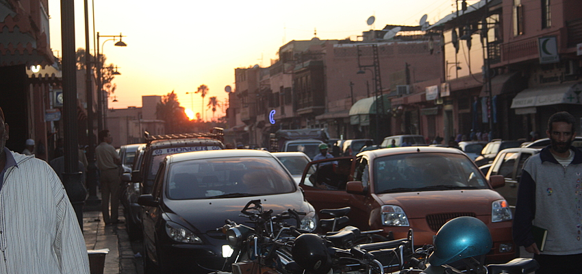 Rue marocaine