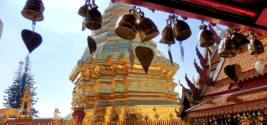 El templo de Wat Phrathat Doï Suthep