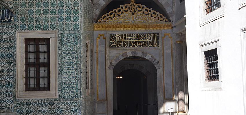 Interior de un harén