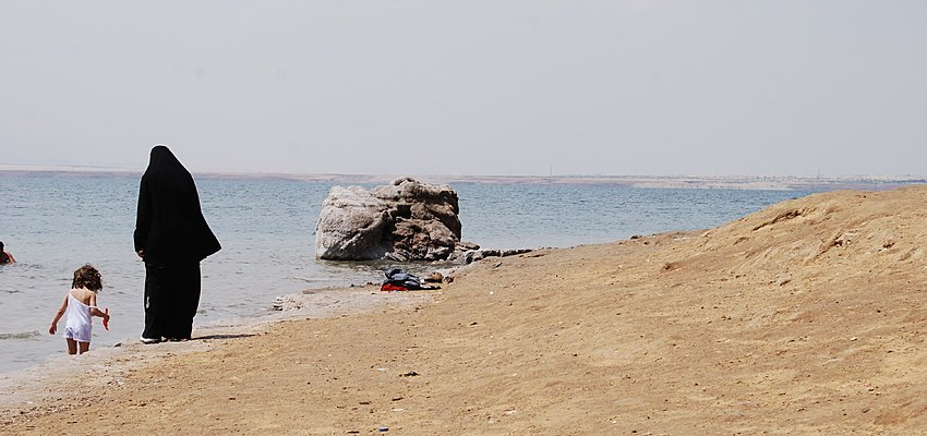 On the Dead Sea