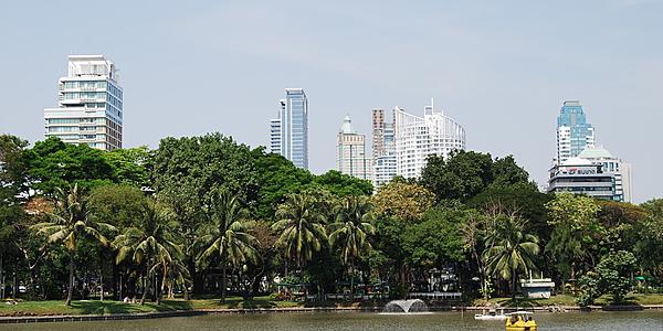 Vue sur Bangkok