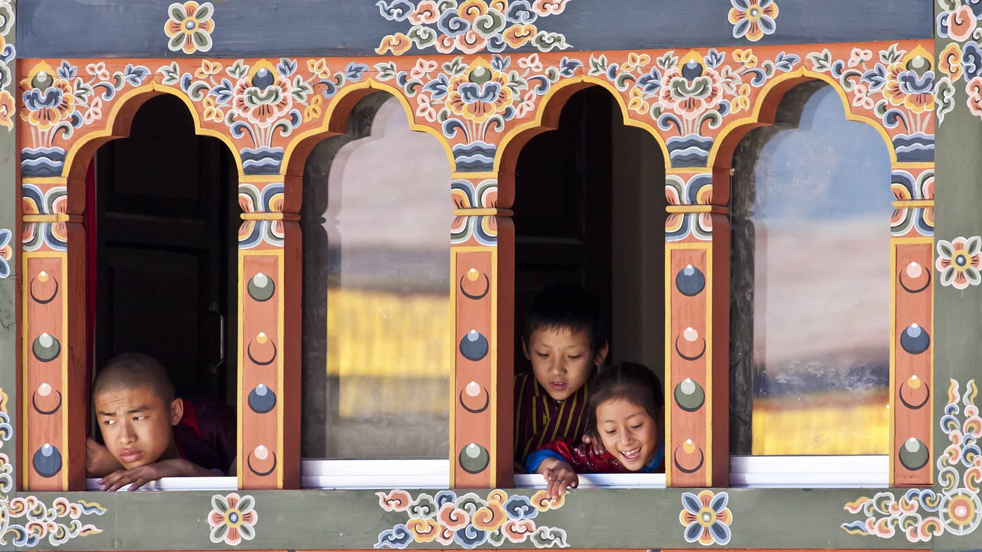 De Thimphu à Punakha en famille