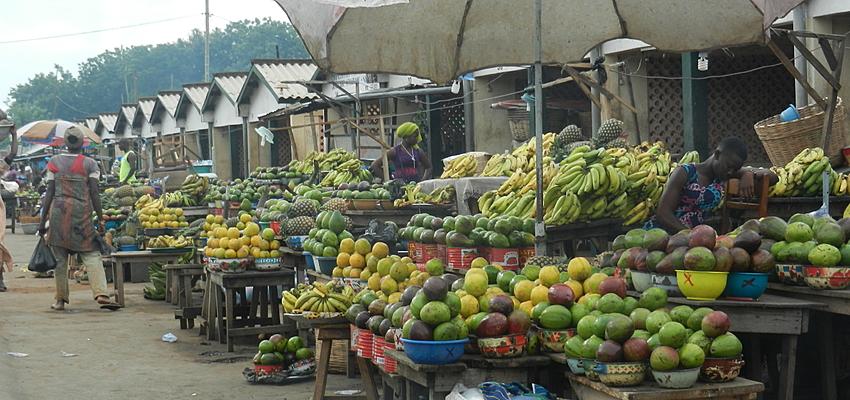 Mercado en Togo