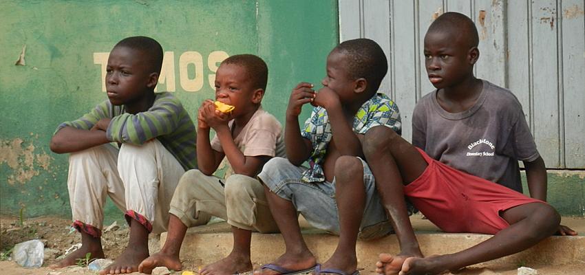 Ses enfants sont l'avenir du Togo