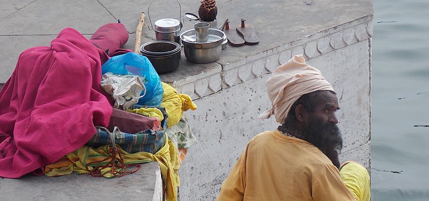 En las orillas del Ganges